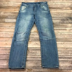 &Denim Boys Relaxed Tapered Jeans Sz 13-14y N372